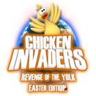 Lade das Flash-Spiel Chicken Invaders 3: Revenge of the Yolk Easter Edition kostenlos runter